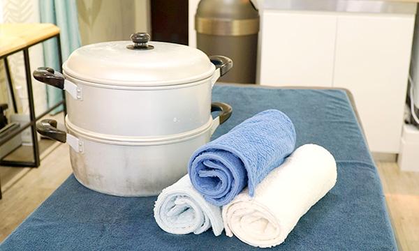 海水温熱タオル蒸し器イメージ