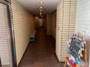アオヤマビル廊下